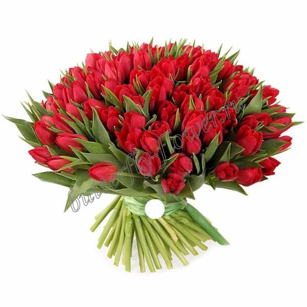 """Bouquet """"101 tulip"""""""