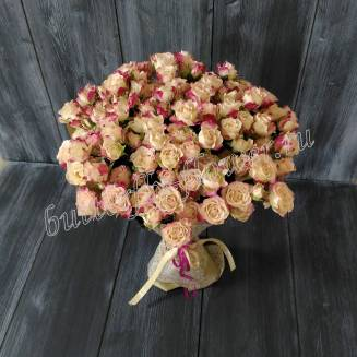 "Bouquet of 25 spray roses ""Reflex"""