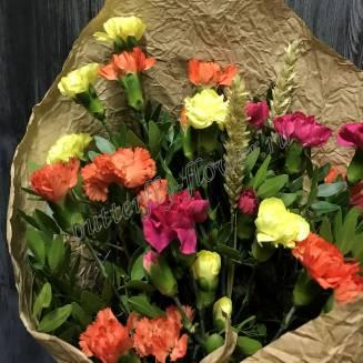 """Bouquet of carnations """"School Break"""""""