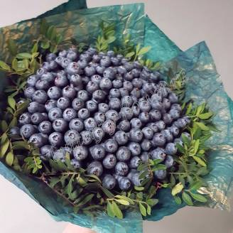 "Food bouquet of blueberries ""Berry No.613"""