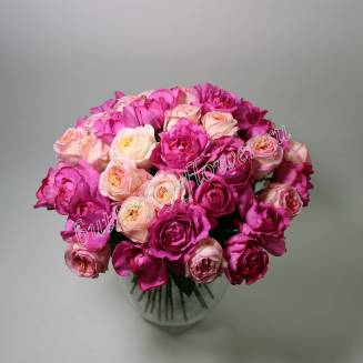 """Bouquet of peony roses """"Chic"""""""